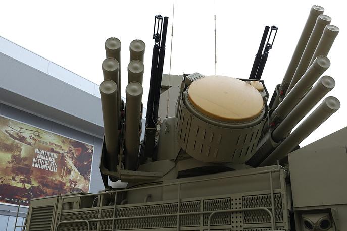 Pantsir-S1 self-propelled anti-aircraft artillery system