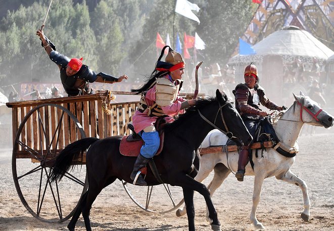 World Nomad Games include 37 ethnic sporting events