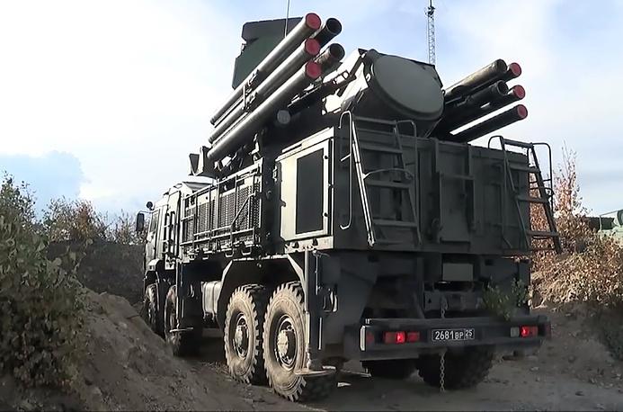 Pantsir S missile system
