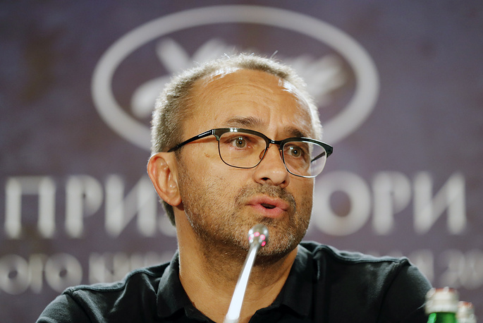 Andrey Zvyagintsev talks to journalists, 2017