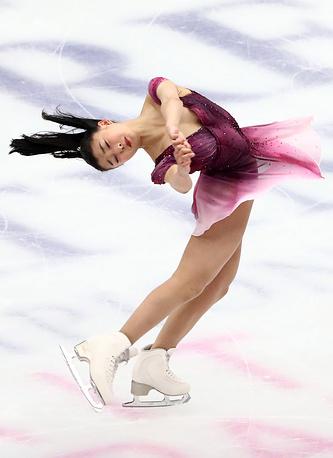 Kaori Sakamoto of Japan
