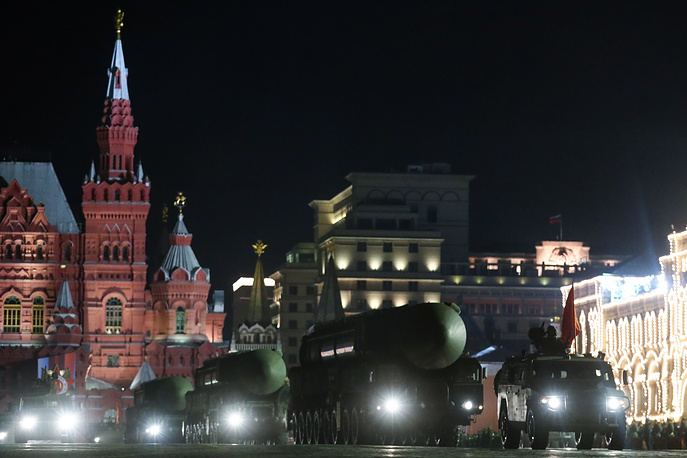 RS-24 Yars intercontinental ballistic missile systems