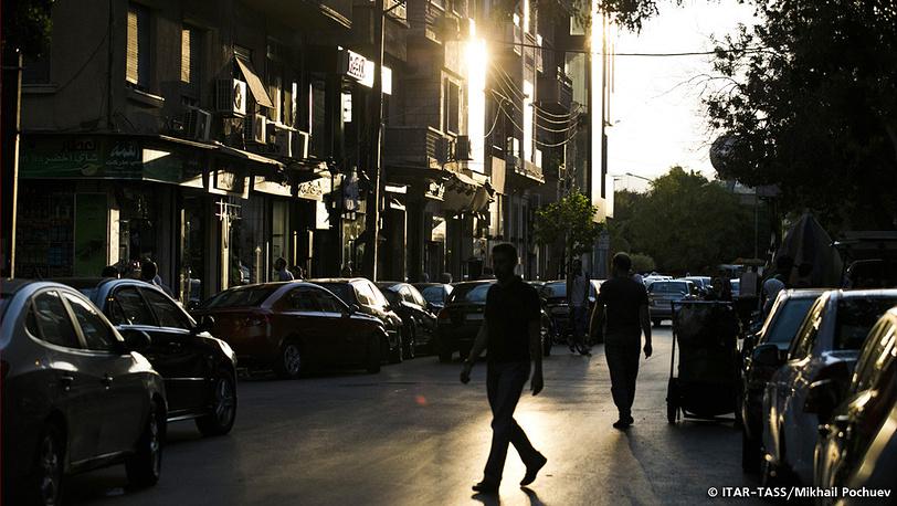 September 19. Dusk in the city.