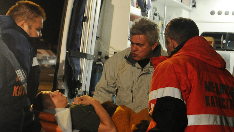 Injured Volgograd bus explosion survivors airlifted to Moscow. Photo ITAR-TASS/ Dmitry Rogulin