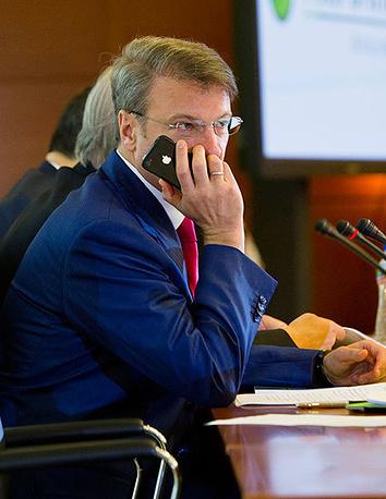 Head of Sberbank German Gref