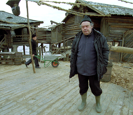 "Алексей Герман на съемках фильма ""Трудно быть богом"", 2003 год."