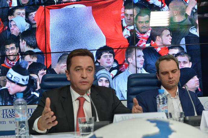 Глава юридического департамента красно-белых Владислав Ляликов