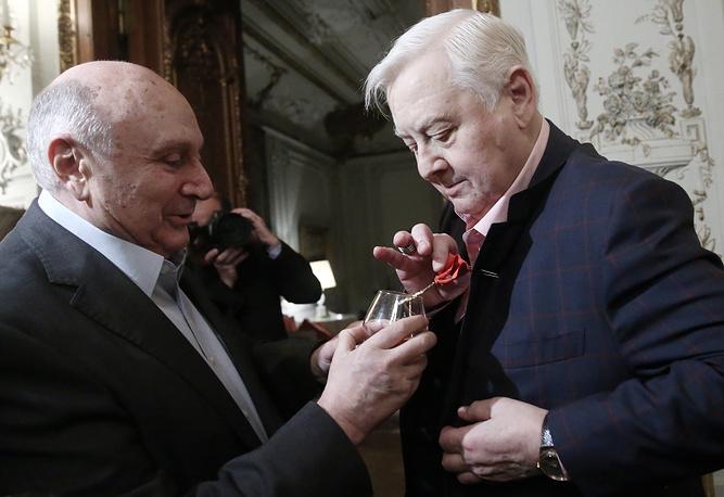 Михаил Жванецкий и Олег Табаков