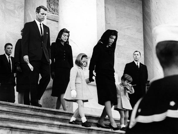 Похороны Джона Кеннеди 24 ноября 1963