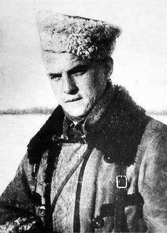Егоров Владимир Васильевич. Герой Советского Союза, командир 5-го полка 5-й ЛПБ. 1944 г.