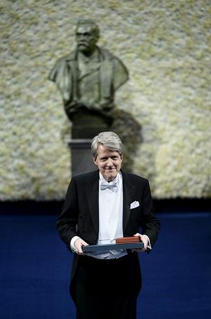 Лауреат премии Государственного банка Швеции памяти Альфреда Нобеля Роберт Шиллер