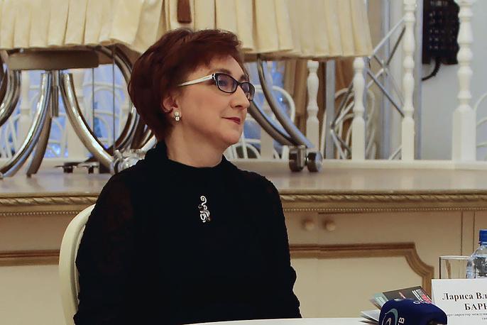 "Лариса Барыкина, арт-директор фестиваля ""На грани"""