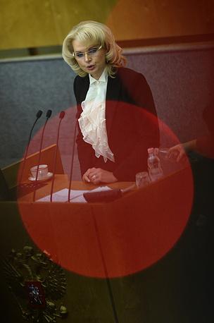 В сентябре Татьяна Голикова возглавила Счетную палату РФ