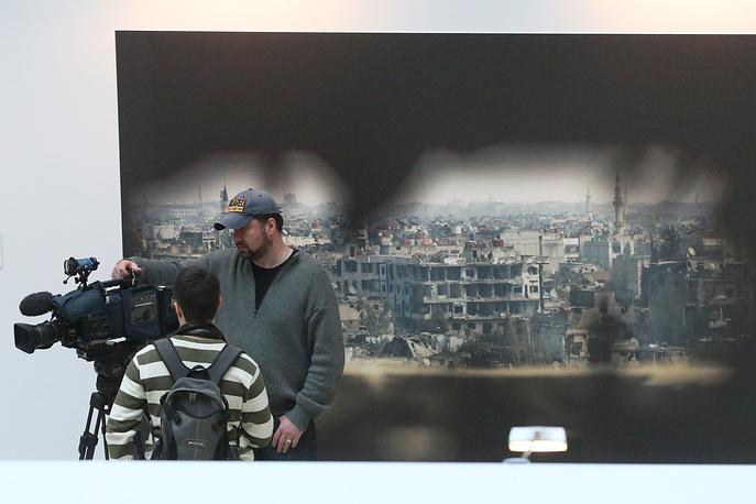 """Выставка """"ВеЩдоки. Сирия"""", посвященная сирийскому вооруженному конфликту"""