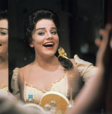 Народная артистка СССР Ирина Богачева, 1978 г.