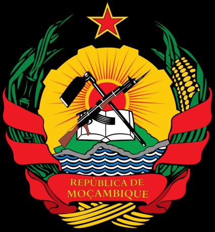 Герб Республики Мозамбик