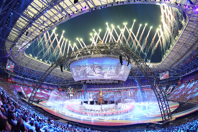 Церемония открытия XXVII Всемирной летней Универсиады 2013 в Казани