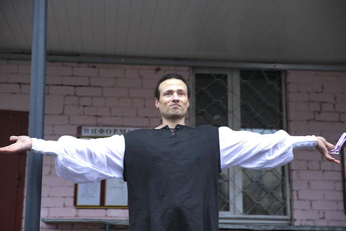 Илья Фарбер после выхода из следственного изолятора