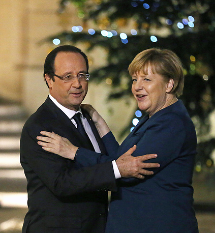 С канцлером Германии Ангелой Меркель