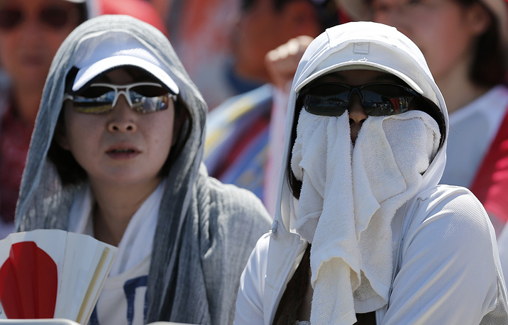 Зрители во время матчей второго круга Australian Open