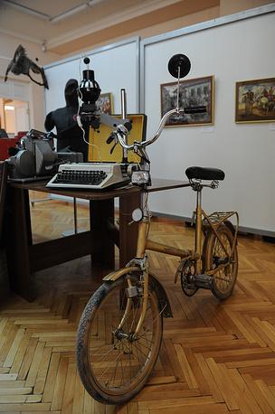 "Велосипед ""Салют"". 1980-е годы"