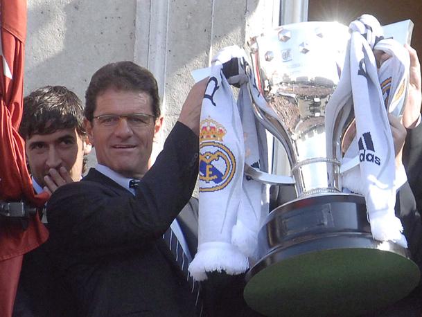 """В сезоне-2006/07 Капелло привел """"Реал"""" к победе в чемпионате Испании"""