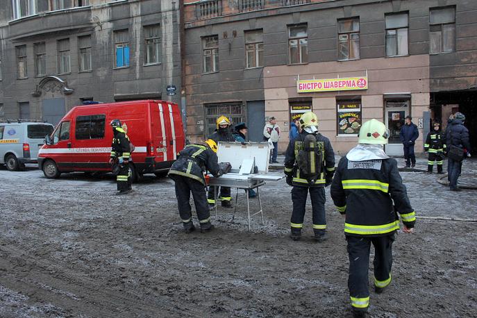 Пожар на улице Шкапина