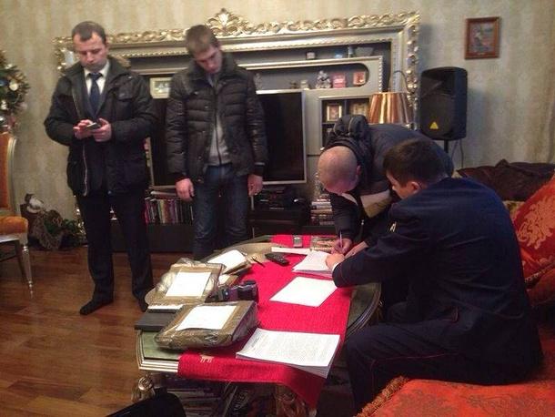 Во время обысков в квартирах Георгия Перского