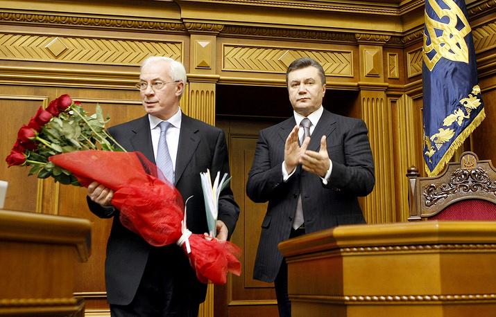 11 марта 2010 г. Николай Азаров был избран премьер-министром Украины