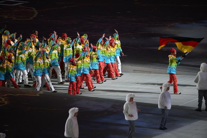 Олимпийская делегация сборной Германии