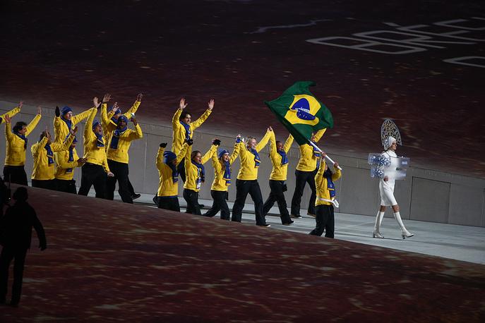 Олимпийская делегация сборной Бразилии