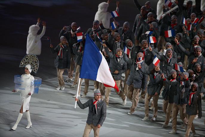 Французским атлетам обещаны $67,8 тыс., $27,1 тыс. и $17,6 тыс.