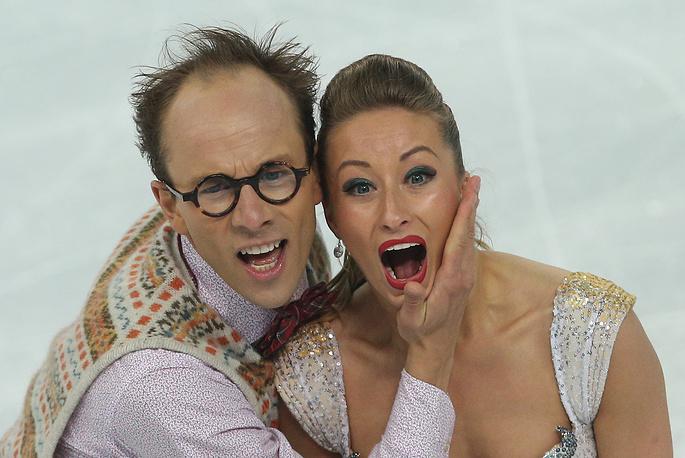 Немецкие спортсмены Нелли Жиганшина и Александр Гажи (60.91)