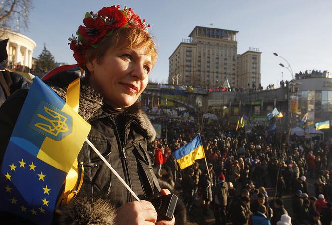 Площадь Независимости 22 декабря 2013 года