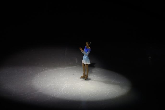 Южнокорейская фигуристка Ким Ю На