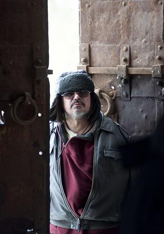 "Алексей Балабанов на съемочной площадке фильма ""Я тоже хочу""."