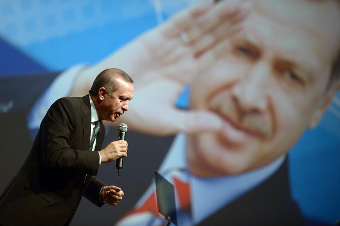 Эрдоган является сторонником вхождения Турции в Евросоюз