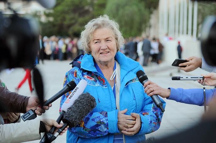 Шестикратная олимпийская чемпионка конькобежка Лидия Скобликова