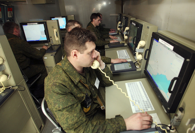 Командный пункт управления зенитно-ракетным комплексом С-300