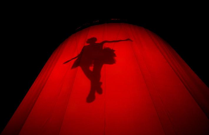 В Москве гастроли канадского цирка впервые прошли в 2009 году. На фото: 2009 год, Мехико, Мексика
