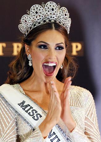 Мария Габриэла Ислер, венесуэльская модель, победительница конкурса красоты «Мисс Вселенная-2013».