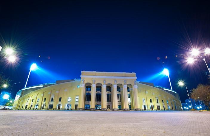 Входная группа Центрального стадиона Екатеринбурга