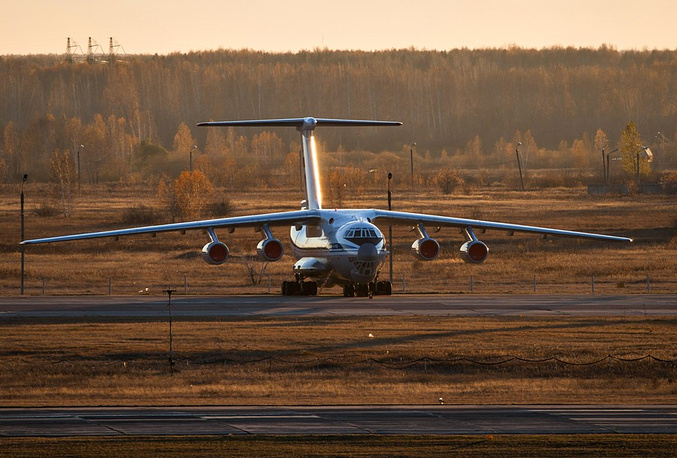 Ил-76. Фото с выставки
