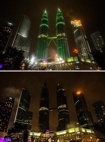 "Малайзия, Куала-Лумпур, башни ""Петронас"""