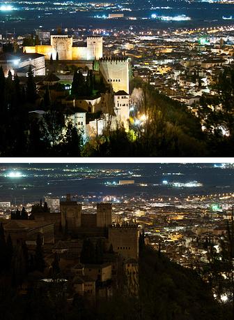 Испания, Гранада, дворец Альгамбра