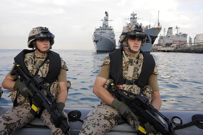 """Операция """"Активные усилия"""" в Средиземном море, начавшаяся в 2001 году. Вооруженные силы НАТО в Средиземном море, участвующие в операции """"Активные усилия"""""""