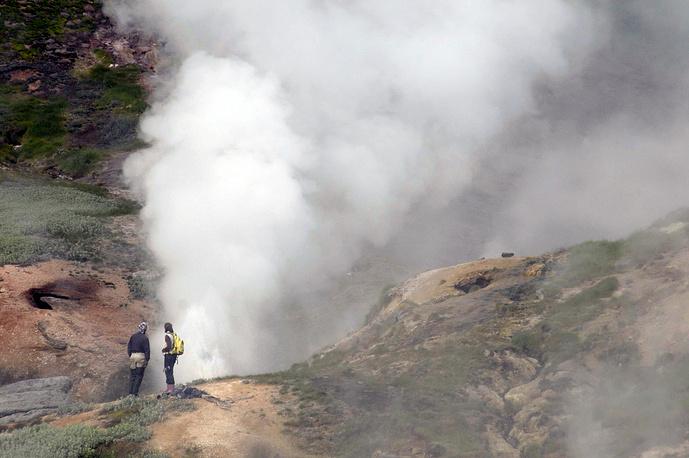 Долина гейзеров на Камчатке была открыта случайно: тогда гейзеры были известны только в США, Новой Зеландии и Исландии