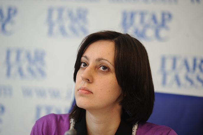Сотрудник музея ИЗО Ирина Кудрявцева