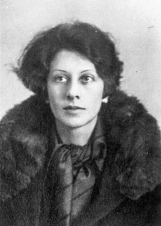 Супруга Владимира Набокова Вера Слоним. Фото середины 1920-х годов