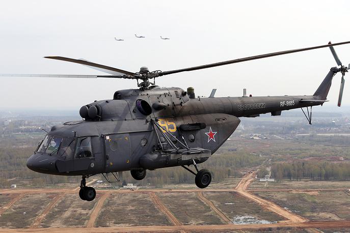 Военно-транспортный вертолет Ми-8